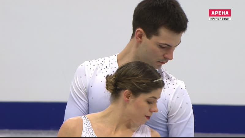 European Championships 2019. Pairs - SP. Miriam ZIEGLER / Severin KIEFER