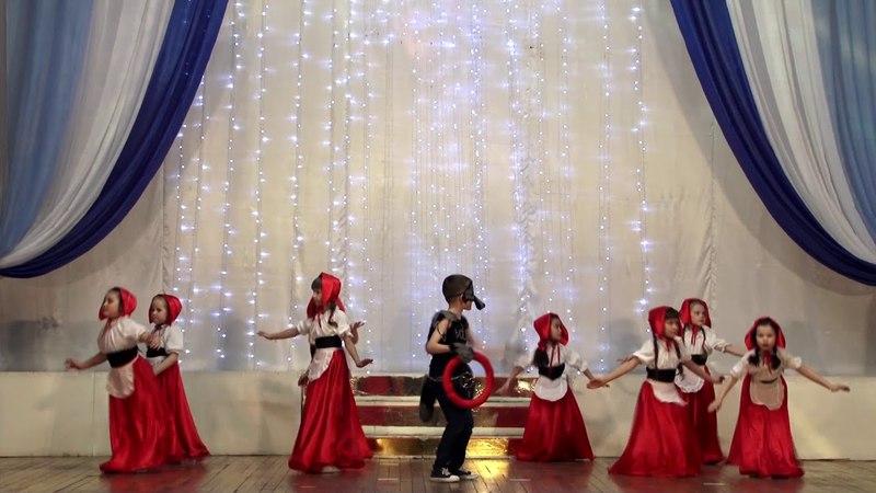 ШАТ Аль Ракс дети (рук. Колесникова Альмира). Гала-концерт 4 ФВТ Авалим, г.Орск, 31 марта 2018г.