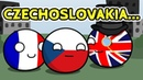 Czechoslovakia is safe Countryballs