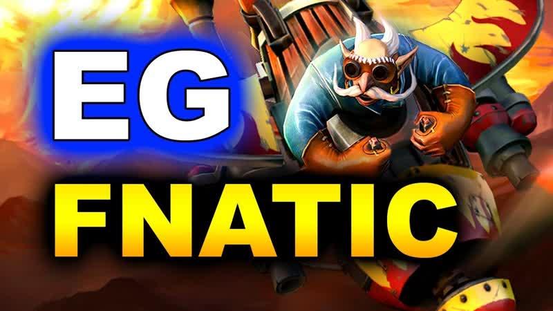 EG vs FNATIC - WINNERS GAME - CHONGQING MAJOR DOTA 2