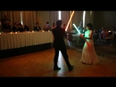 Bride and Groom First Dance Lightsaber Battle