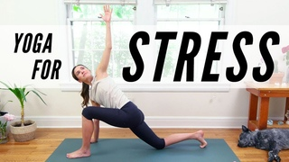 Yoga For Stress Management  |  Yoga With Adriene
