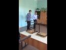 Никита и Слава танец на последний звонок