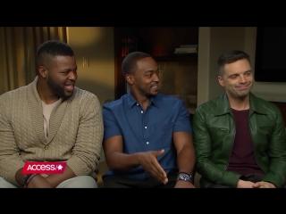 Интервью для Access в рамках промоушена фильма «Мстители: Война бесконечности» в Лос-Анджелесе, США | 21.04.18