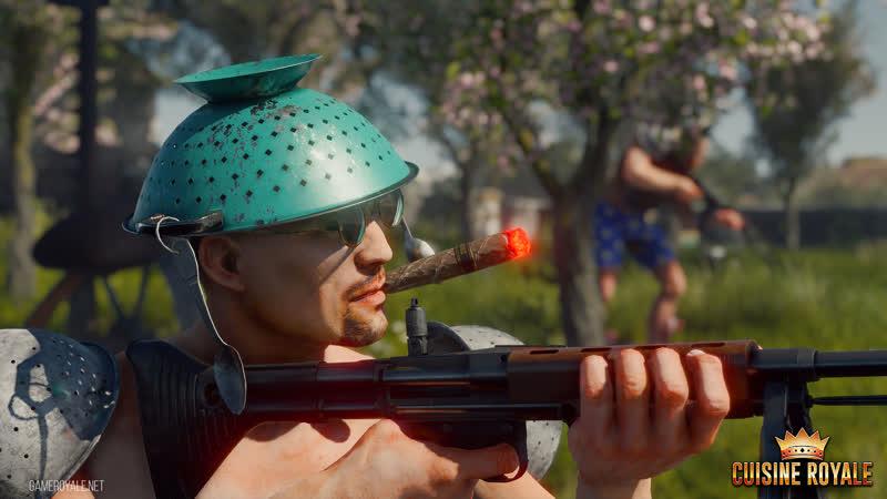 Cuisine Royale убийца PLAYERUNKNOWN'S BATTLEGROUNDS (PUBG,ПУБГ) Гремлю кастрюлями!