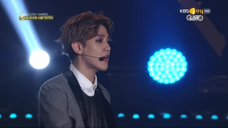 1080P 150122 Seoul Music Awards 서울가요대상 EXO Full cut 60fps (2)