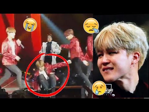 BTS JIMIN Accident Fail Moment on Stage (All Scenes)