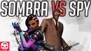 SOMBRA VS SPY RAP BATTLE by JT Music Overwatch vs TF2