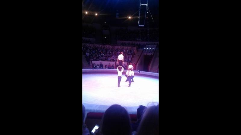 Акробаты цирка Чинизелли