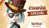 Lyra Datchery - Monster High Repaint - STEAMPUNK COLLABORATION