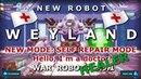 War Robots Weyland New Robot Repair Mode