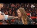 WWE RAW Ronda Rousey ataca a Baron Corbin 12/11/18 Español Latino ᴴᴰ