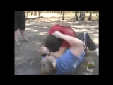 【Street Fighter】Street Brawler vs Kickboxer【Queen of the Hood】 - YouTube