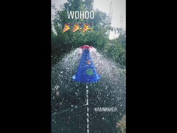 Gustav Schäfer Instagram Story ii [22.08.2018] - WOHOO 🎉🎉🎉 rainmaker