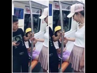 Как заводить друзей в китайском метро