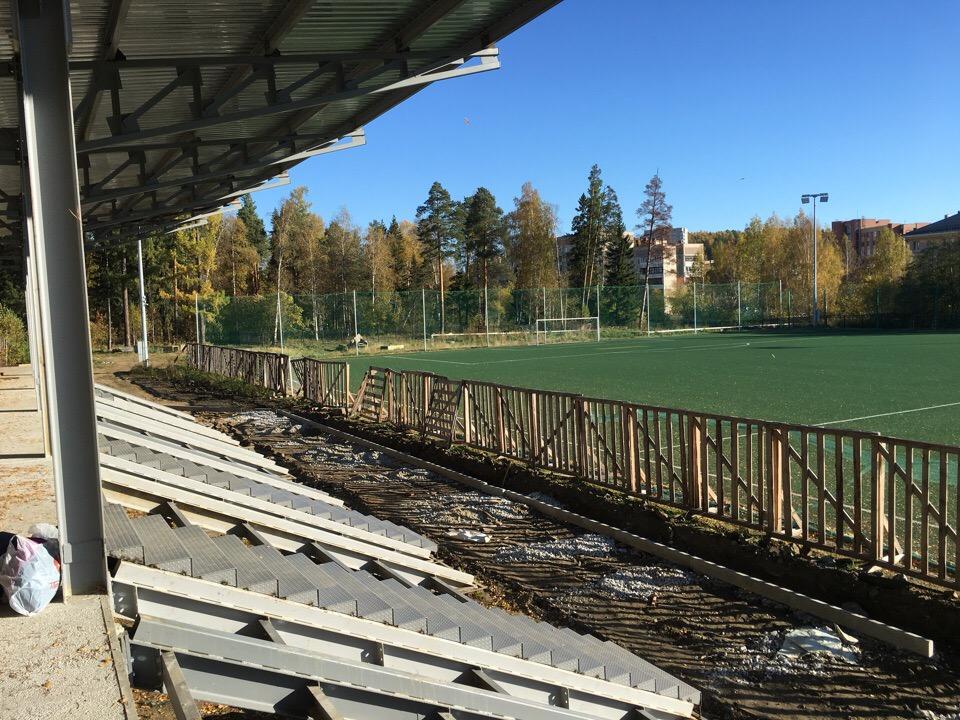 Модернизация футбольного поля ДЮСШ-2