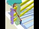 Mechanical automatic gate 1