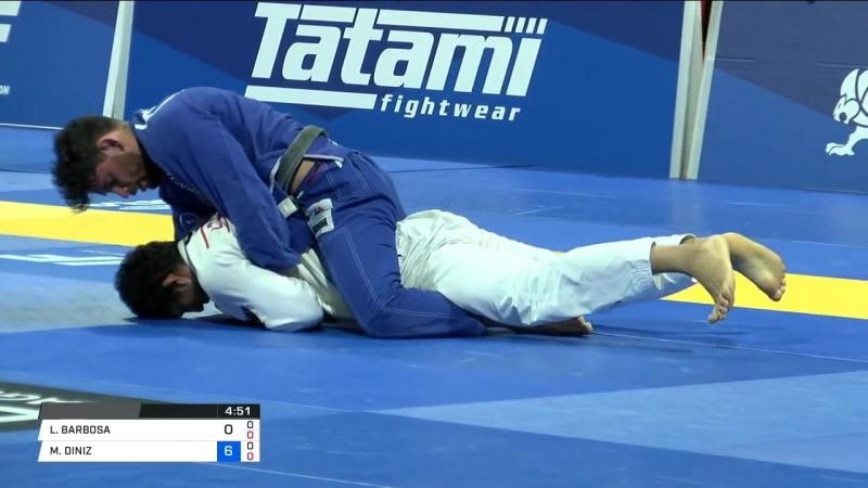 Lucas Hulk Barbosa vs Matheus Diniz IBJJFWorld2018