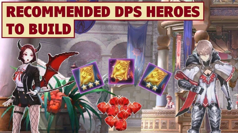 King's Raid - Recommended DPS Heroes to Build