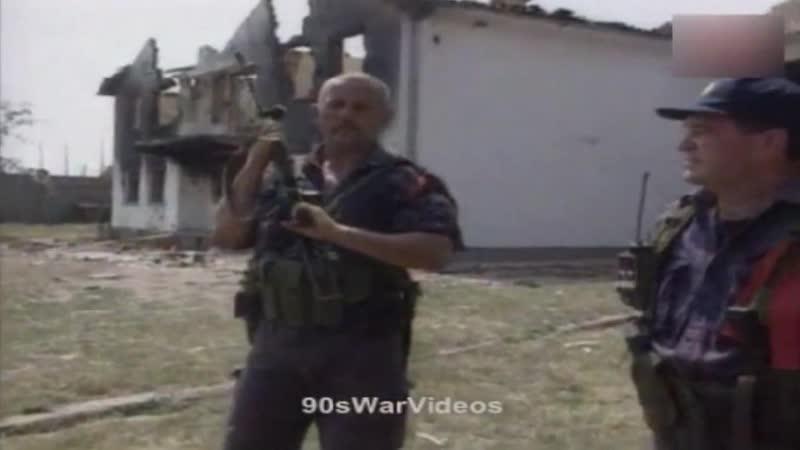 Действия подразделений полиции СРЮ на территории Косово. Юник, 16 августа 1998 года