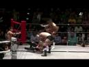 HAYATA Tadasuke YO HEY vs LEONA Minoru Tanaka Mitsuhiro Yoshida Riki Choshu Produce Power Hall 2018