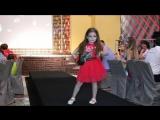 показ детской коллекции одежды #зефирка моделей Mega Photo Day на конкурсе next top model of crimea