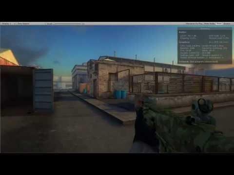RPG/FPS Game Assets for PC/Mobile (Industrial Set v4.0) demo map_v3