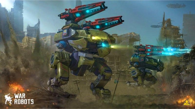 War Robots BULWARK Dragoon Build | Shenzen Map GAMEPLAY [TS 3.9]
