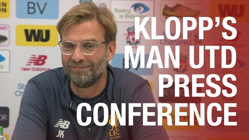 Jürgen Klopp's pre-Manchester United press conference | Mane, Lovren, Dalglish