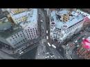 Полеты над Петербургом в режиме Slow TV под мелодичную музыку