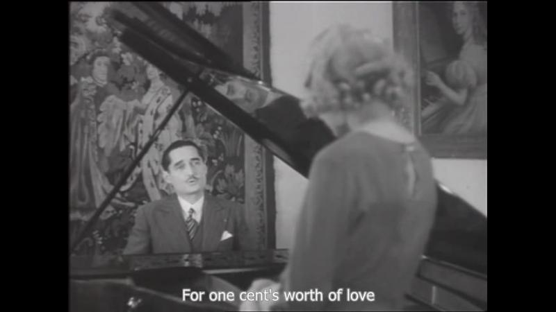 André Baugé Sings A Romantic Tune To Josseline Gaël