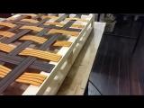 диван в стиле пэчворк. процесс изготовления. sofa patchwork manufacturing proces