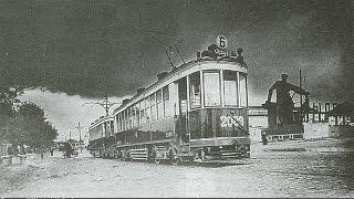 МОСКВА 1928-1935 гг. Прогулка по Садовому Кольцу на трамвае Б (Букашке)
