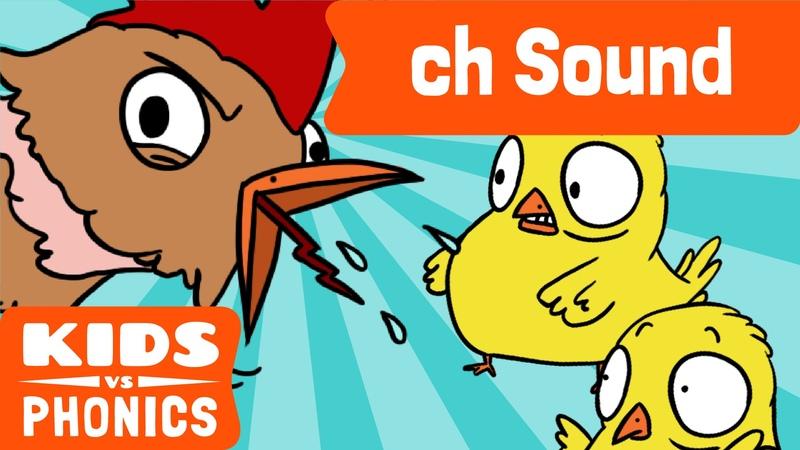 Ch | Fun Phonics | How to Read | Made by Kids vs Phonics