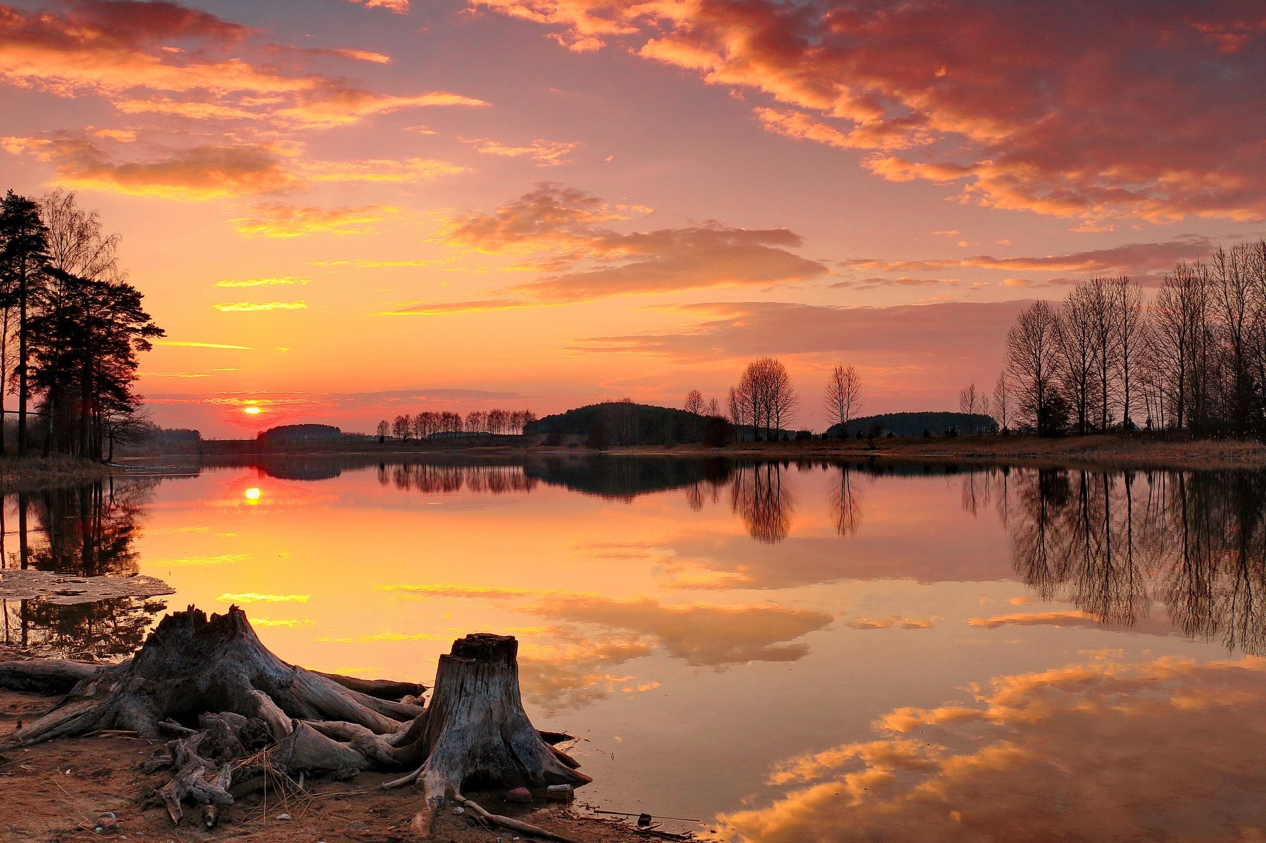 Козуб Валерий Осень на Цнянском водохранилище