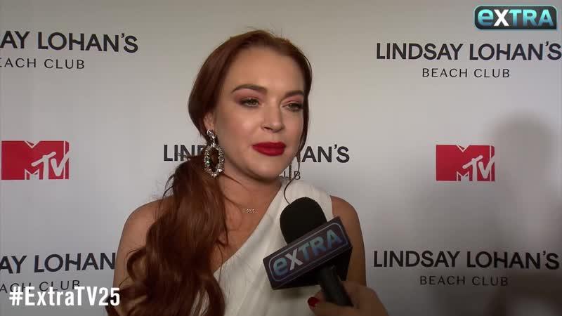 Lindsay Lohan on 'Beach Club,' 'Mean Girls 2' Ariana Grande's 'Thank U, Next'