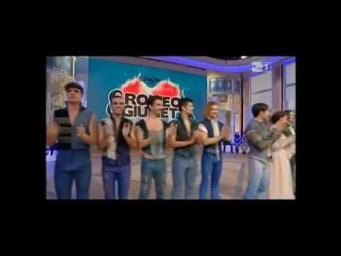 Il cast di Romeo e Giulietta ospite a UnoMattina in Famiglia