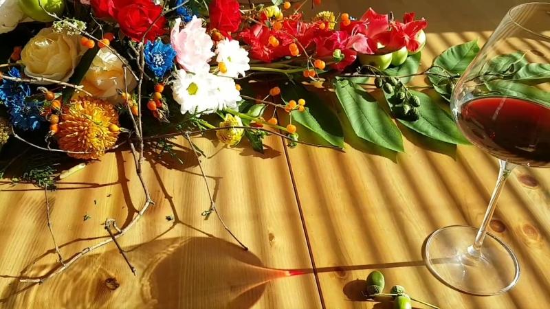 Букет столовый вдохновение от Shigeru Umebayashi 🎶☀️💚💐🌿✂️
