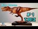 DINO DREAM / Tyrannosaurus Rex /Jurassic Park 1 - Review 207 (german)