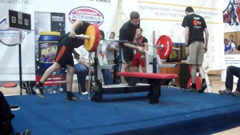 Чемпионат России 2013 AWPC по жиму лежа