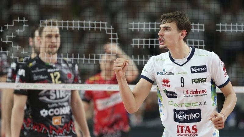 Volleyball Highlights. Semifinal Scudetto. Trento VS Perugia. 15.04.18.