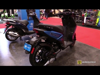 2018 Piaggio Typhoon 50 Scooter - Walkaround - 2018 Toronto Motorcycle Show