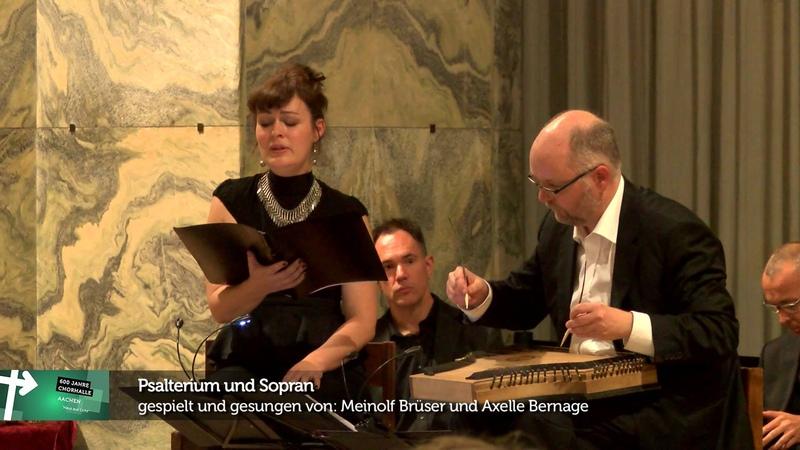 Teil 2 des Engelskonzerts im Aachener Dom anlässlich des Chorhallenjubiläums 2014