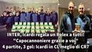 INTER, Icardi regala un Rolex a tutta la squadra