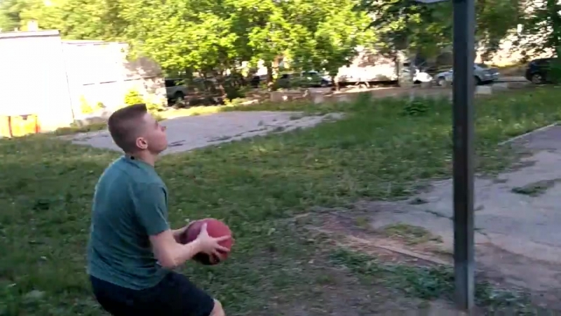 100 OVERALL VALERON Dunking In The Yard