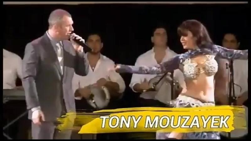 Анонс гастролей Tony Mouzaek