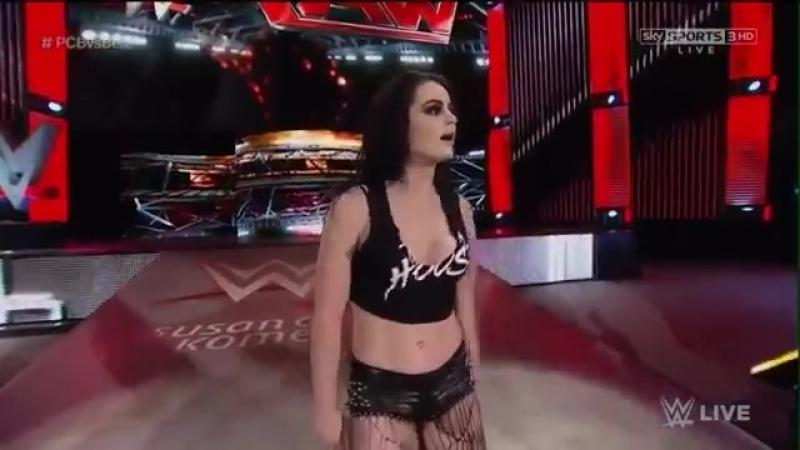 WWE Raw 26 10 15 Team Bella Vs P C B Español Latino