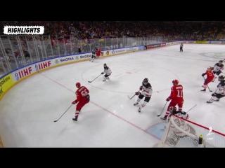 Обзор Россия - Канада Чемпионат мира хоккей