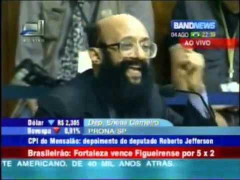 Enéas humilhando Lula na CPI do mensalão Vídeo original