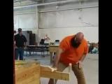 Соревнования на проверку остроты и прочности ножей